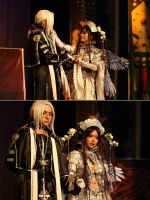 Trinity Blood: Lilith Sahl + Abel Nightroad by Ray-DDDDD