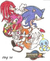 Sonic Adventure 2... Heroes by TavoGDL