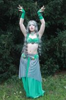 STOCK- Turquoise Bellydancer by Apsara-Stock