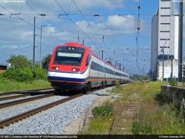 CP 4001 starts tilting 090411 by Comboio-Bolt