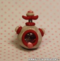 Polymer Clay Robot by KIMMIESCLAYKREATIONS