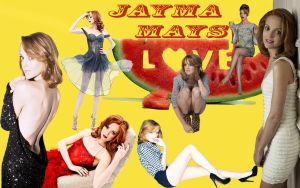 Wallpaper - Jayma Mays by DarinaBerry