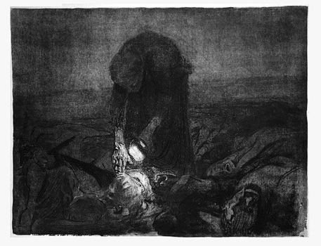 'After the Battle' etching 1907 by tanzafari