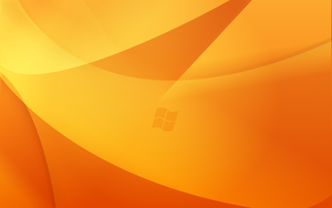 Orange Windows Wallpaper by The-Dogfather