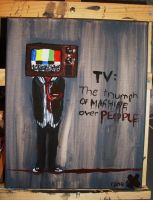 mr tv. stop lying to me. by REBEL--love