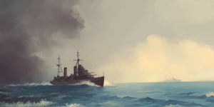 HMS Galatea by U-Joe