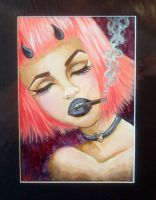 Smokin' Diabla by AmyVillainous