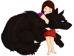 Hannibal Werewolf AU - Alana and Will by FuriarossaAndMimma