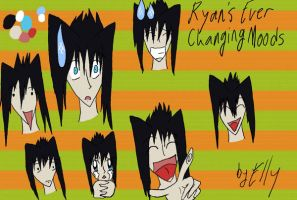 The Expressions of Ryan by Enuwey