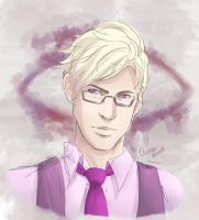 Welcome to Night Vale - Cecil by paintedcastle