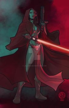 Darkside Leia by Jelli76