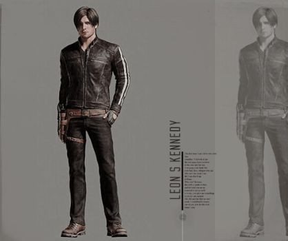 Leon S. Kennedy (Vendetta Official Artwork) by efrajoey1