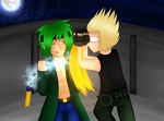 -C- Time for a fight by Milchwoman