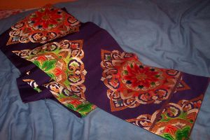 Purple Karabana Obi by myloko