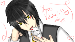 Happy Valentine's Day - Rei by KuraiLilia1998