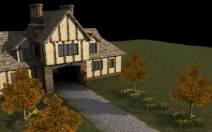 The Gatehouse by Mudf4ce