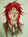 Grell by Kyasuni
