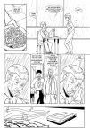 Sample Comic Page: House M.D 01 (Ink) by ToniKudo