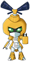 Medabots- Metabee by Unreturned