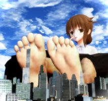 The sole and the city by Kingklon