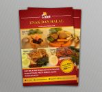 Flyer Dina Catering by Fanskers