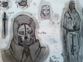 Dishonored: Sketch 02 by AvianAssassin080