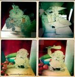 .: paper puppets :. by Marmottegarou