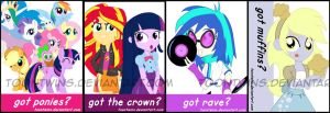 Got Badges -- Equestria Girls by ToonTwins