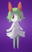 Request: Crona the Kirlia by DreamyNormy
