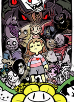 Undertale by BlessedWithLuck