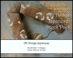 All Things Japanese Stock Pack by Toefje-Kunst