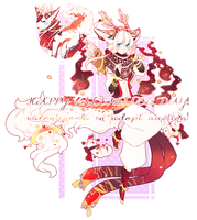 [VDAY AUCTION] the valentine kirin! open! LAST DAY by mintbuns