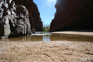 Water in the Desert by Camski