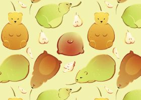 PEAR BEARS by soltian