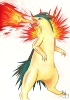 Typhlosion by SonARTic