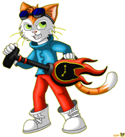 Blinx The Time Sweeper. by LoneWolf-FarAway