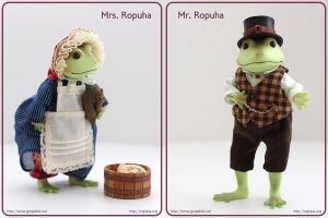 Mr. Ropuha Toad - pistache by scargeear