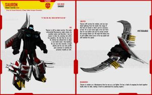 DINOBOT SAURON by F-for-feasant-design