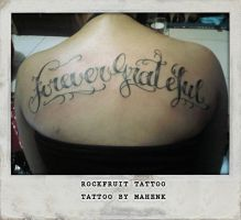 Forever Grateful by Mahenks