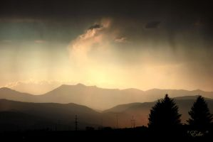 Colorado Sunset by 1001G