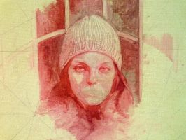 Oil Sketch of my hungarian sister in law by Sidimention