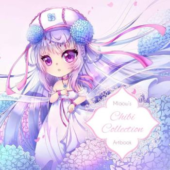 chibi collection artbook cover by MIAOWx3