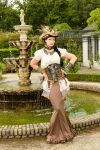 Stock - Steampunk pirat woman 5 by S-T-A-R-gazer