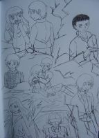 The day that started the chain of evens, uncolored by Tsukiko75014