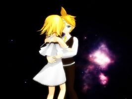 MMD hug pose DOWNLOAD by sofitssofi