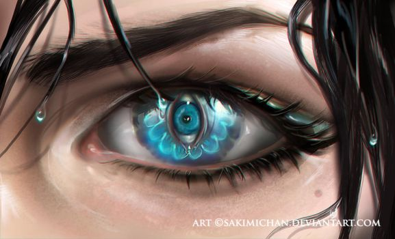 eye see by sakimichan
