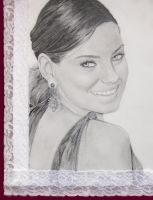 Mila Kunis by pencilSplotch