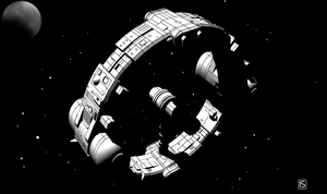 Traveller: Laboratory Ship by biomass