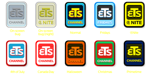 ETS Channel Logo (2015 Variants) by ETSChannel
