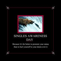 Singles Awareness Day by RivisIndigoEmporium